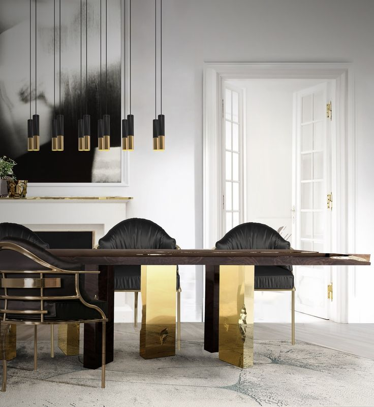 Dining room design must be neat, comfortable and provide a luxurious experience at the same time otherwise is just not worth it.