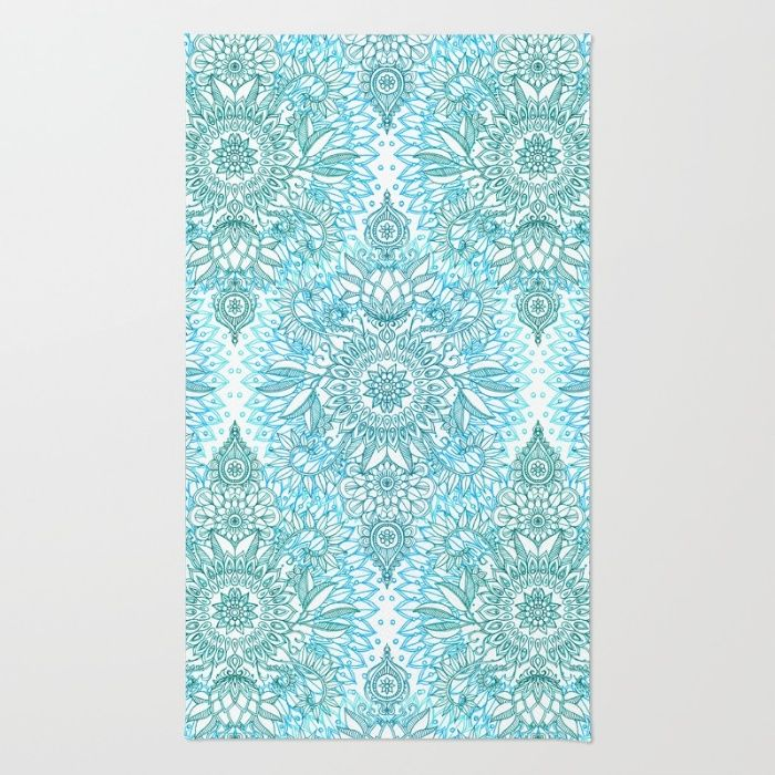 Homefires Indoor Outdoor Hooked Turquoise White Indoor: 53 Best Images About Area Rugs On Pinterest