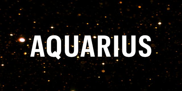 Aquarius Monthly Horoscope (July) 2017