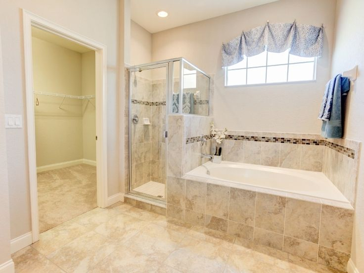 Soak Away The Day In This Spa Like Bathroom. Highland Homesu0027 Willow II