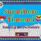 These Reading Genre posters are the perfect addition to any classroom, but especially one with a superhero theme!   This set includes a set of 10 c...