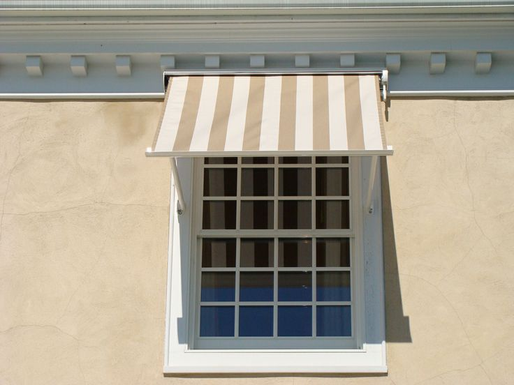 Window Awnings Provide Shade Protection From The Sun Lower Monthly Air Conditioning Costs And Prevent