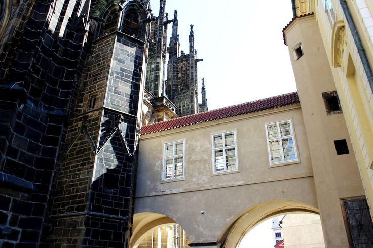 Prague Castle complex.