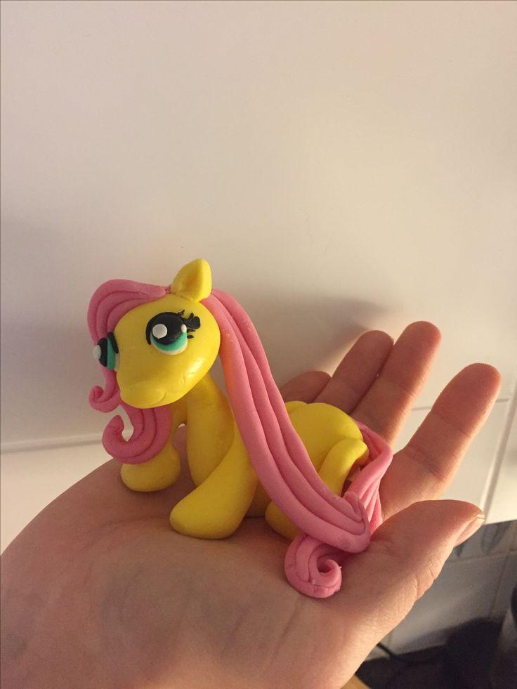 Cake topper My little pony fluttershy