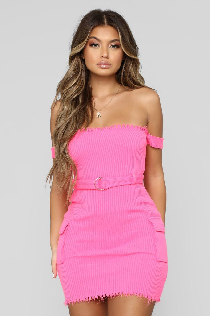 Womens Pink Cut-Out Torso Going Out Party Bodycon Mini Dress