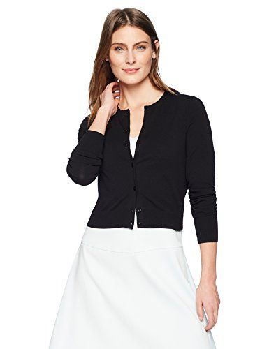 1f4dce448a New Lark Ro Women's Crewneck Cropped Cardigan Sweater online. [$29]  weloveoffer