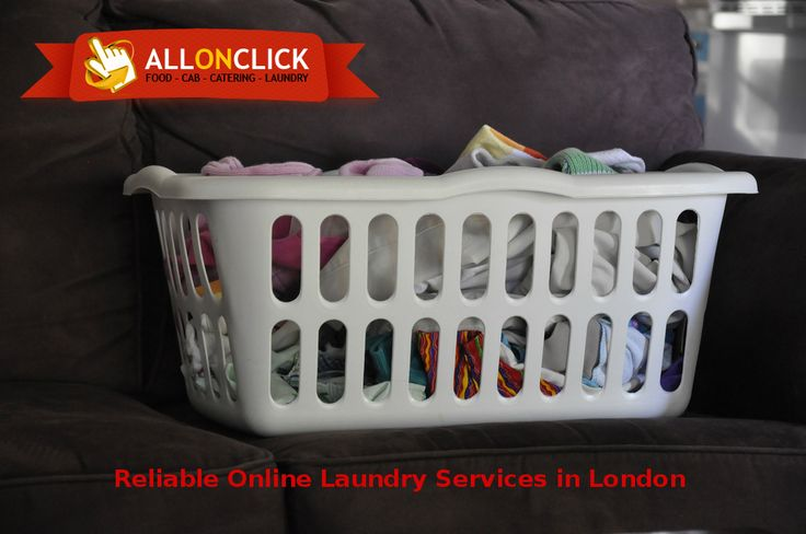 Reliable online #laundry #London with #AllOnClick.  #OnlineLaundry #LondonLaundry