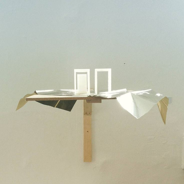 Pi (2017)  PLA Survival blanket timber  #fringeartsbath #contemporaryart #conceptualart #contemporarydrawing #conceptualdrawing #contemporarysculpture #sculpture #smallsculpture #jodyhamblin #kunst