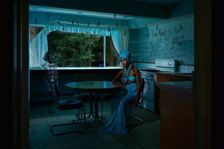 """Voodoo """"Gods of Suburbia"""": Dina Goldstein's Arresting Photo Series Featuring Ancient Gods in Modern-Day Scenarios • Page 3 of 6 • BoredBug"""