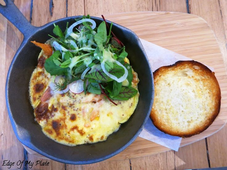 Edge Of My Plate: Proper & Son - Smoked Salmon Omlette