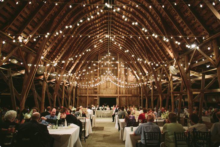 Nebraska Arbor Day Farm Barn Wedding