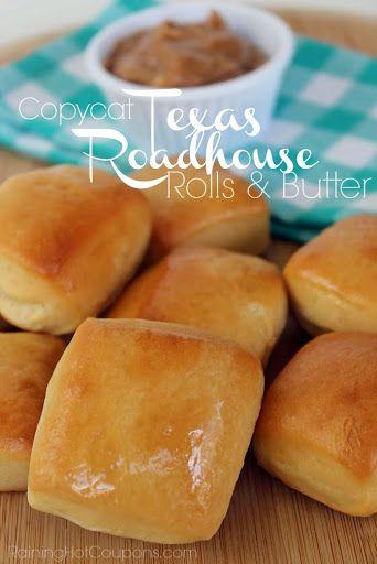 Copycat Texas Roadhouse Rolls & Cinnamon Butter Recipe on Yummly