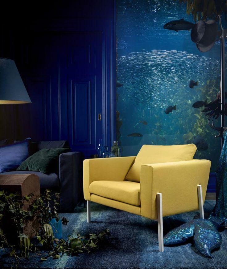 Kanske bättre än en gul soffa? Lite mer safe, men samtidigt kul!