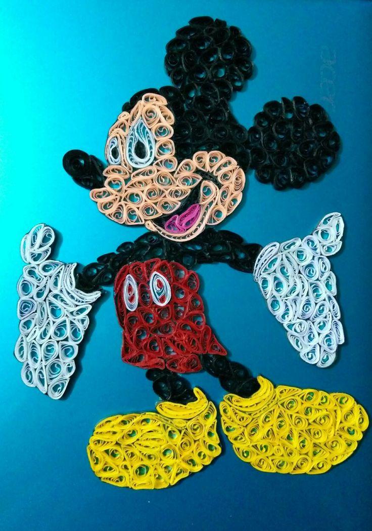Mickey Mouse, Filigrana