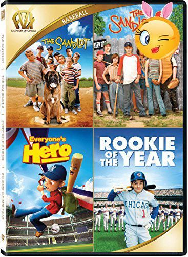 #wow Four family Baseball Films The #Sandlot The Sandlot 2 Everyones Hero Rookie of The Year