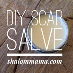 DIY Scar Salve (can be used for acne scarring)