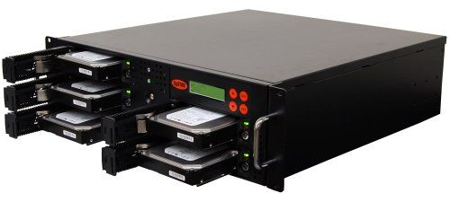 SySTOR 1:4 SATA Hard Disk Drive / Solid State Drive (HDD/SSD) Rackmount Clone Duplicator/Sanitizer - High Speed (150mb/sec) (SYS204RMHDD)