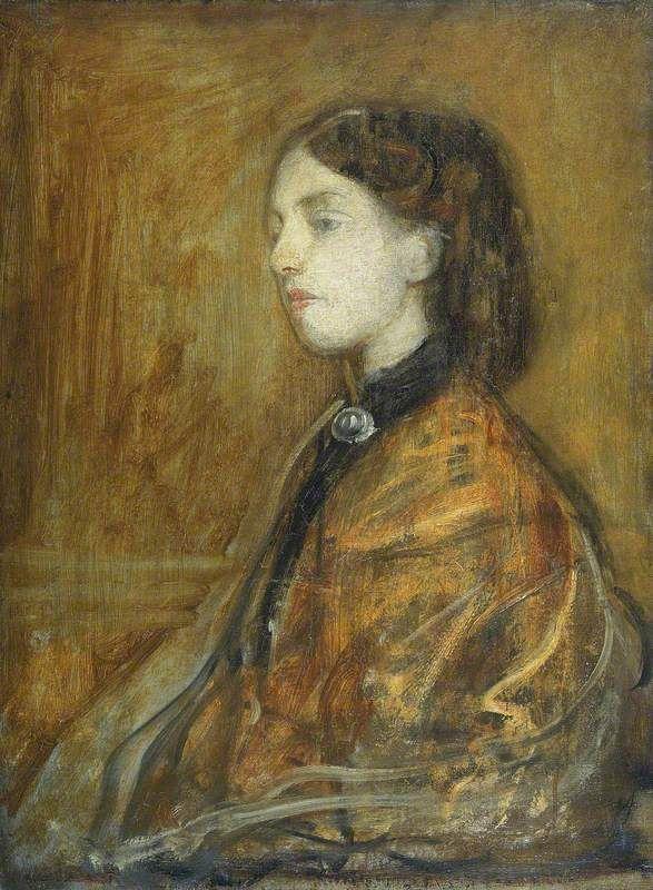Portrait of Gwen John (1876–1939) c. 1900 by Ambrose McEvoy