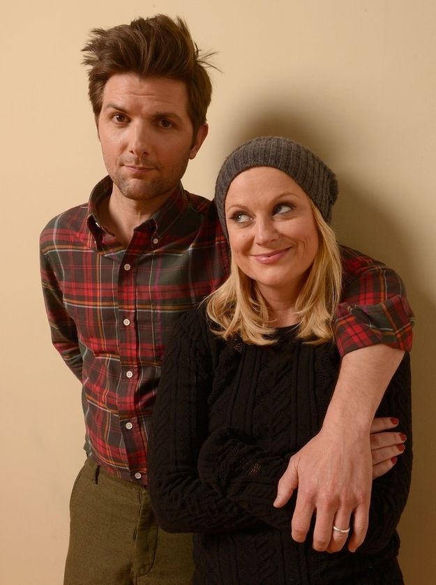 Check Out How Cute Amy Poehler And Adam Scott Are At Sundance