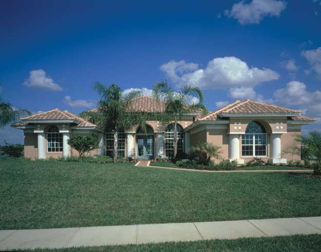 1000 images about spanish mediterranean home plans on for Large mediterranean house plans
