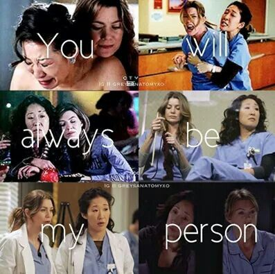 Grey's anatomy is the truest way to watch me break down. So many tears were shed this season over Mer and Cristina. Heartbroken
