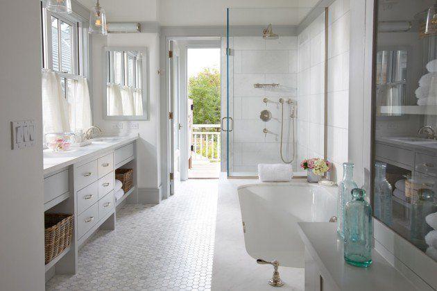 Coastal Bathroom Designs: 25+ Best Coastal Bathrooms Ideas On Pinterest