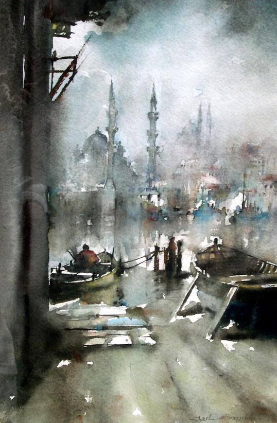 Işıl Özışık , watercolor artist
