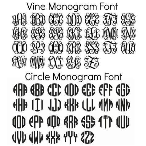 Download Image result for Free Monogram Fonts Circle SVG DaFont ...