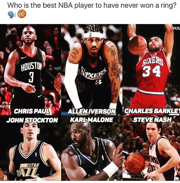 Tbh I think maybe Stockton A.I and Malone dont @ me on that and A.I had a great statistical career averaging I think 27 ppg for his career - - - - - Go follow @basketballers_city  - - - - - - Tag: #nba #sixers #suns #celtics #jazz #warriors #cavs #basketball #nba2k18 #nfl #Super #clippers #basketballshoes #rookiesvsvets #rockets #science