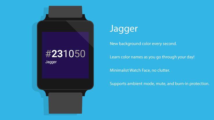 Jagger - Watch Face - screenshot