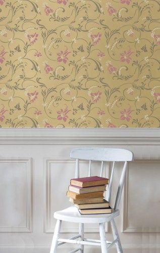 117 best Wall Stencil Design images on Pinterest | Wall stenciling ...