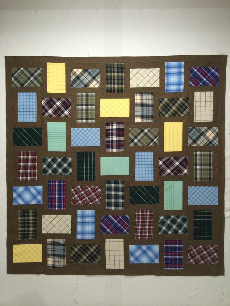 10 best Made from Dress Shirts - Quilts and Items images on ... : quilting items - Adamdwight.com
