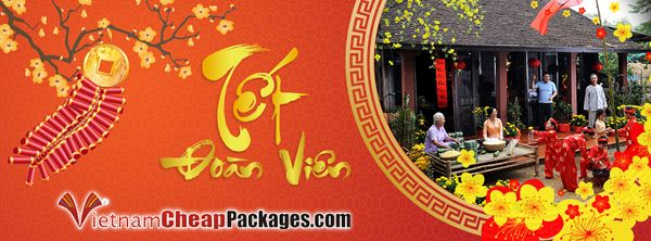 Vietnam is ready for TET !  From today Vietnam is entering TET - Vietnamese new Lunar year 2016, the year of Monkey. This is the most important, and the longest holiday of Vietnam during 8 - 14 Feb 2016.  Thank you for your interest in VietnamCheapPackages.com travel services in the last year. New Lunar Year opens new festive season, and we wish you visit Vietnam on these days to immerse in a happy holiday season and prosperous New Year.