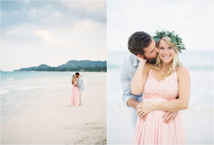 Kylie Martin Photography, Fine Art Film Photographer.  Beach Maternity