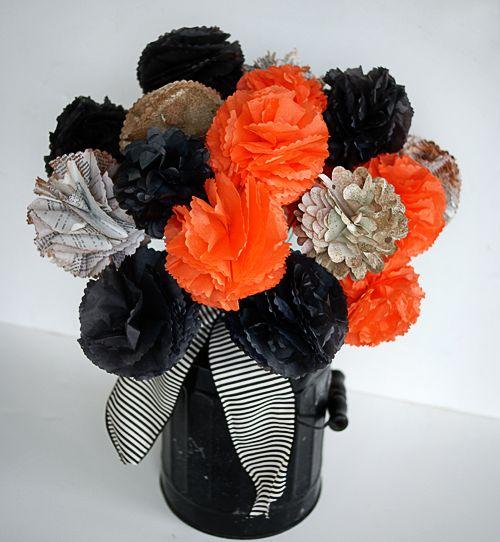 Valentines Pom Pom Bouquet
