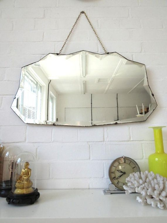 Hey, I found this really awesome Etsy listing at https://www.etsy.com/listing/250406834/art-deco-mirror-with-bevelled-edge