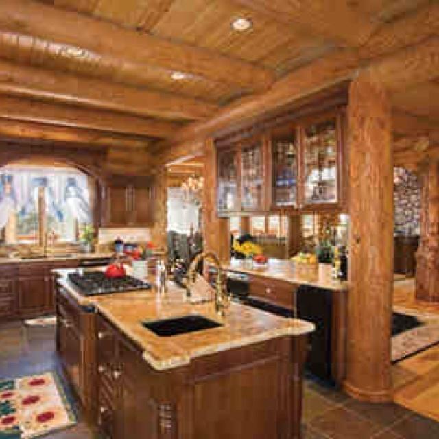 Comlog Cabin Homes Interior : Cabin Interiors