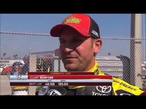 Jeff Gordon Wrecks Clint Bowyer @ Phoenix 2012 (Fight and Interviews Included) - YouTube