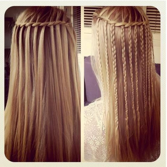 I Want To Try This If Grow My Hair Out And When Learn Waterfall Braid