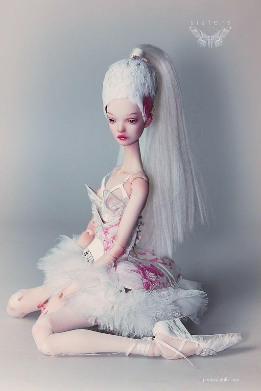 "CREATOR: CREATORS: Popovy SISTERS ~ ""White Ballet"""
