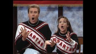 Will Ferrell SNL Skits Cheerleader