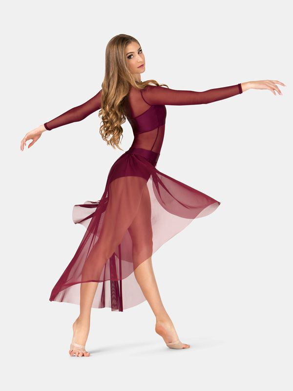 All About Dance - NEW! Double Platinum Adult Long Sleeve Dress