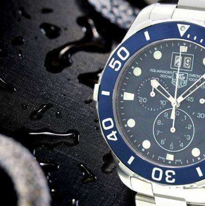 TAG HEUER Aquaracer Quartz Chronograph Grande Date