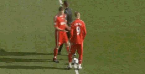 I love Steven Gerrard, Fernando Torres, Liverpool FC GIF <3