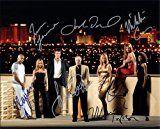 #8: Las Vegas Tv Series with James Caan Cast Signed Autographed 8 X 10 Reprint Photo  Mint Condition