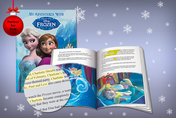 £12 (from Unusual Giftz) for a small personalised Frozen book, or £15 for a large book - http://www.moredeal.co.uk/shopping-deals-online/12-from-unusual-giftz-for-a-small-personalised-frozen-book-or-15-for-a-large-book/