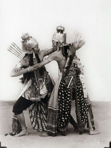 Javanese Dancers Photographic Print at AllPosters.com