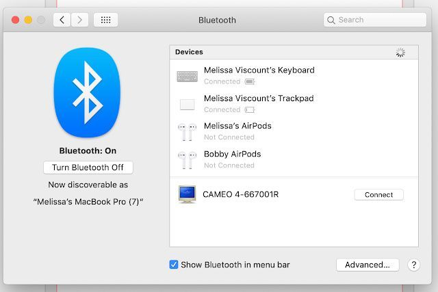 Macbook Bluetooth Not Available