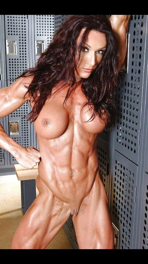 Female Body Building Nude 38