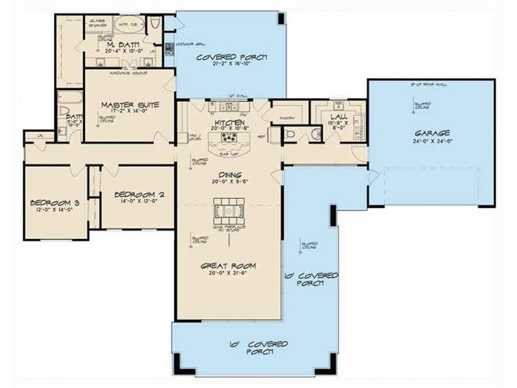 EPlans Contemporary Modern Shed House Plan U2013 Contemporary Modern Plan With  Great Porches U2013 2154 Square Feet And 3 Bedrooms From EPlans U2013 House Plan  Code